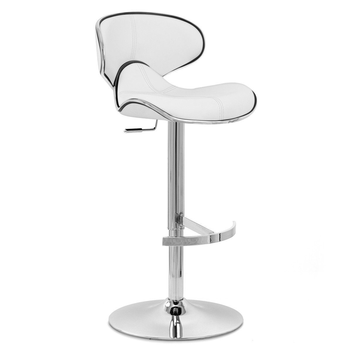 Tabouret de bar billy blanc