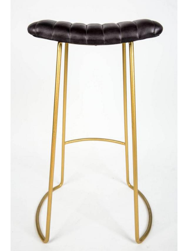 Tabouret de bar cuir design