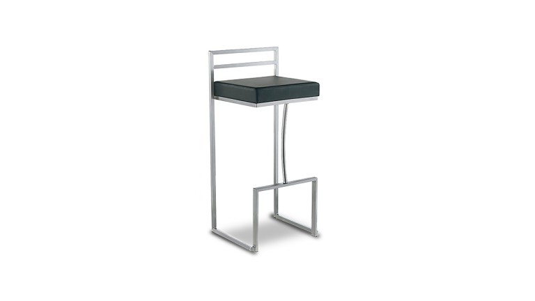 Assise tabouret de bar metal