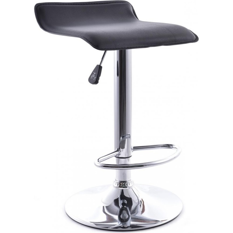 Tabouret de bar metal chrome