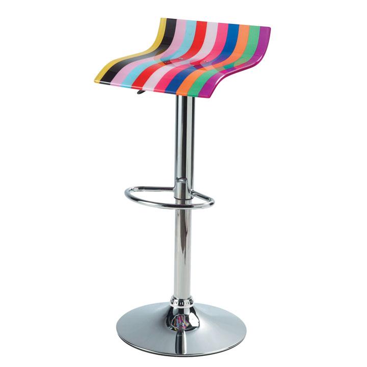 Tabouret de bar multicolor