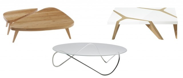 Table basse de designer