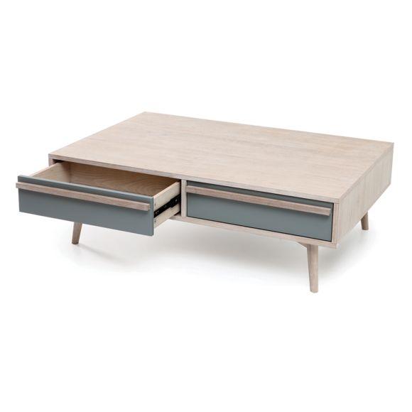 Table basse scandinave miliboo
