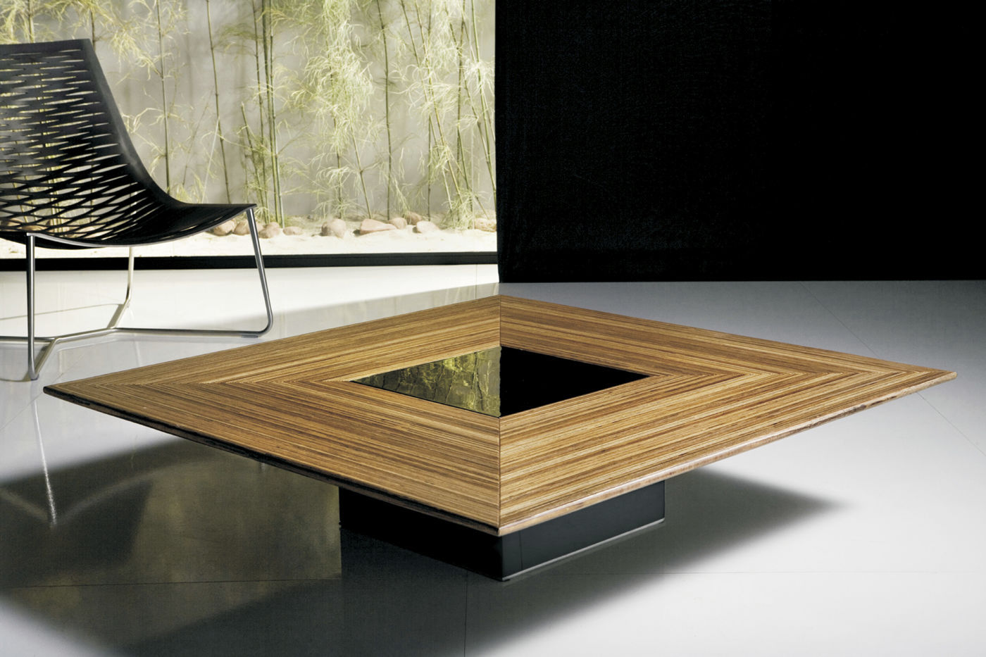 Table basse design contemporain