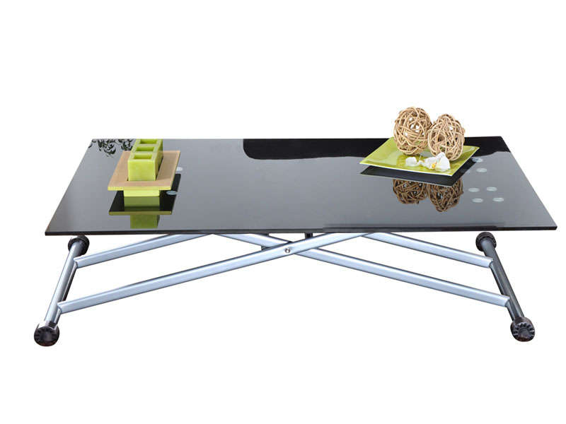 Table basse relevable up and down