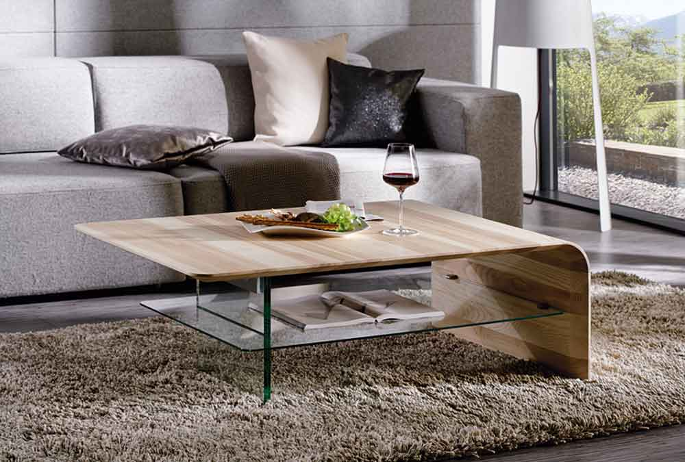 Table basse design de luxe