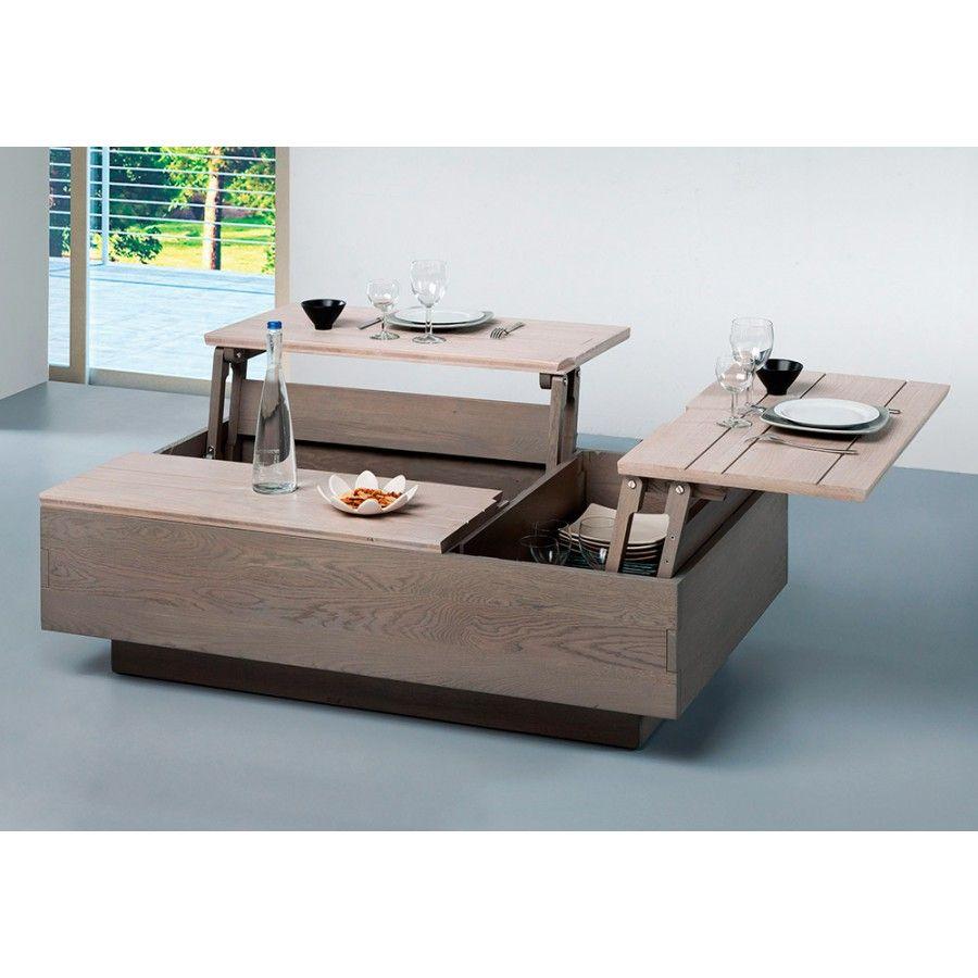 Construire une table basse relevable