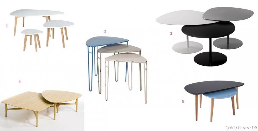 3 table basse gigogne design