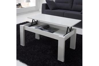 Table basse relevable venezia blanc