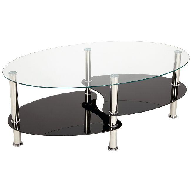 Table basse ovale gifi