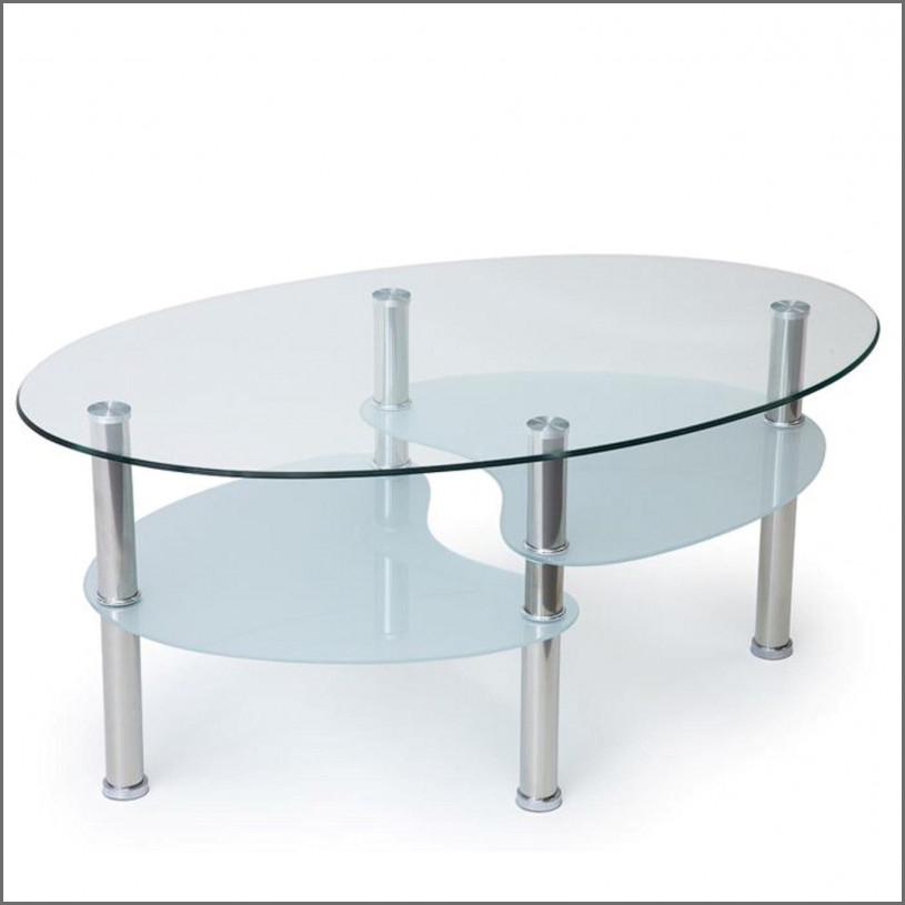 Table basse fer forgé et verre conforama