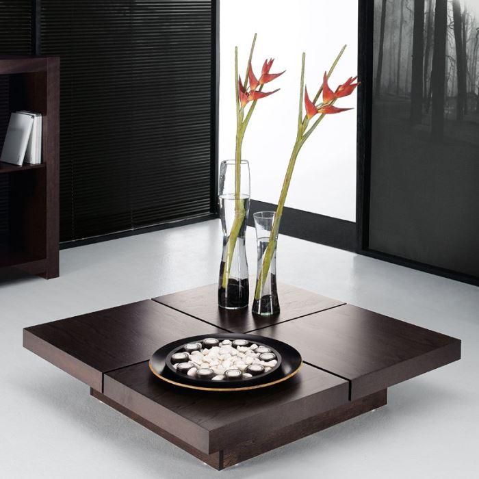 Table basse designer japonais