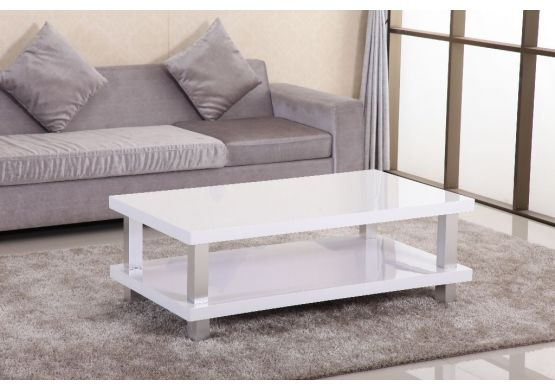 Table basse design aluminium