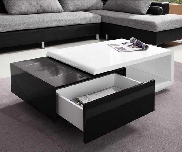 Table basse design de salon
