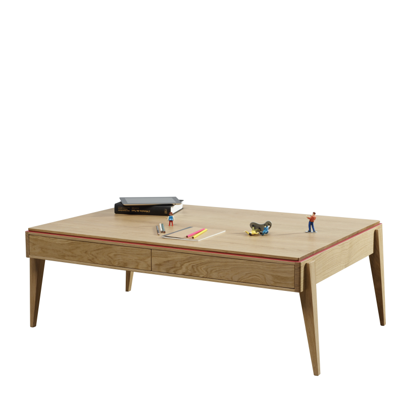 Table basse design en bois