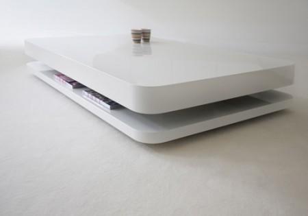 Table basse design arrondi