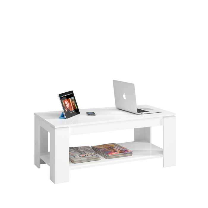 Table basse relevable 100 x 50