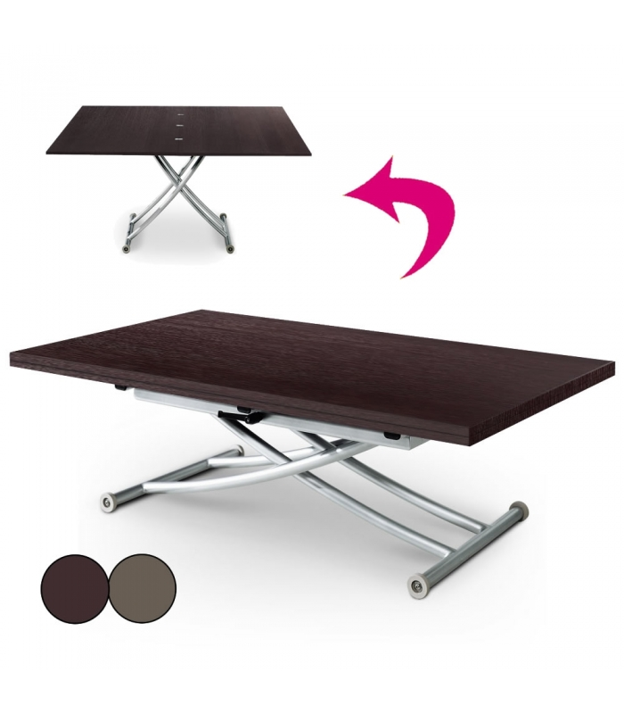 Table basse relevable extensible xl