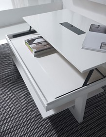 Table basse relevable upper