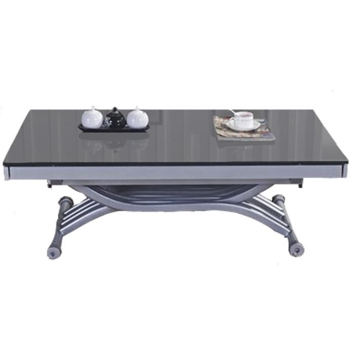 Table basse relevable video