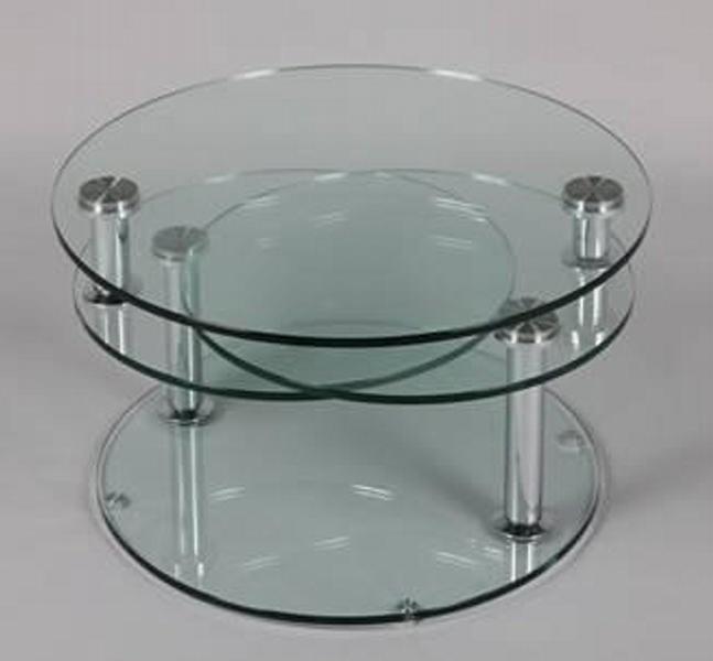 Table basse en verre stella