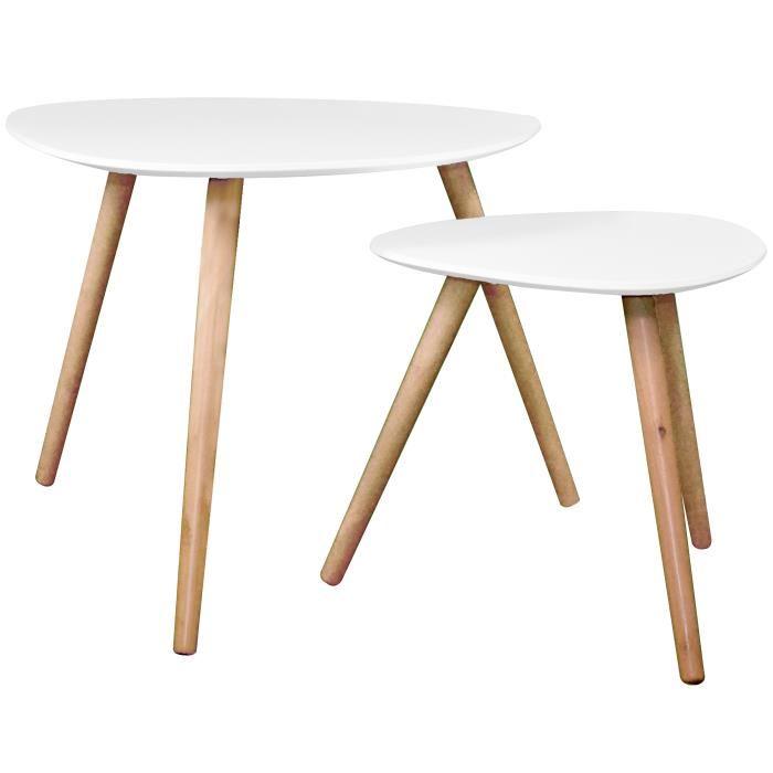 Table basse scandinave pas cher