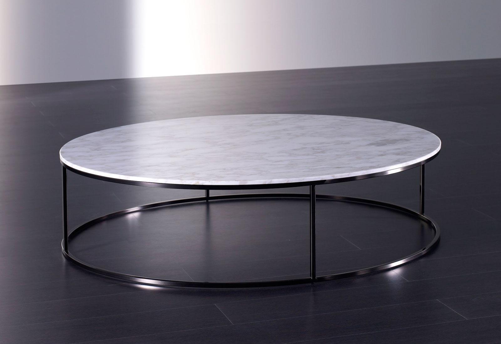 Table basse ronde contemporaine