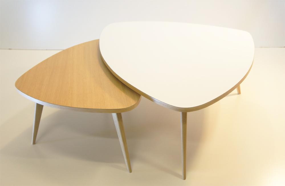 Table basse scandinave blanche ikea