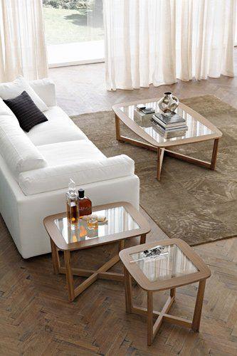 Table basse bois casa