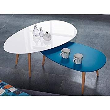 Stone table basse scandinave