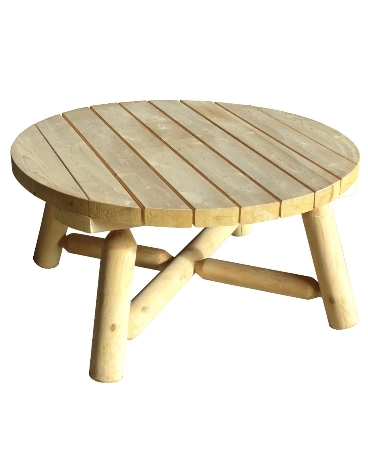Table basse exterieur alinéa bois
