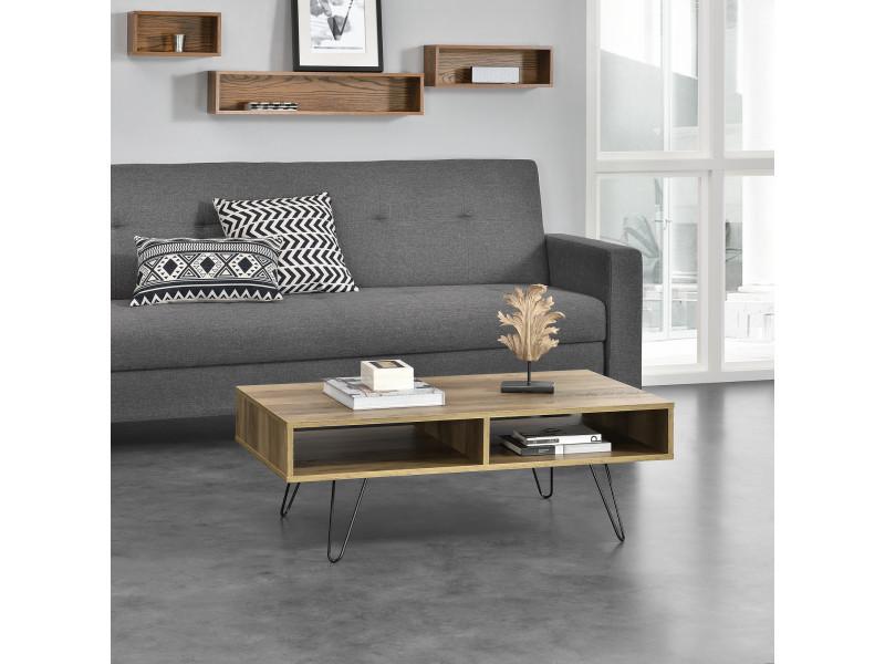 Casa table basse bois