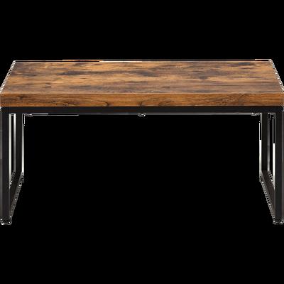Table basse bois et metal but