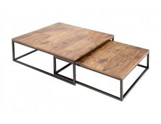 Table basse design en bois massif sheesham pamela