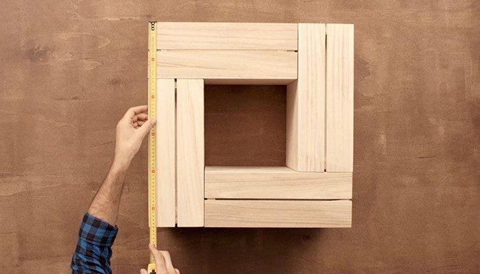 Fabriquer table basse avec caisse en bois