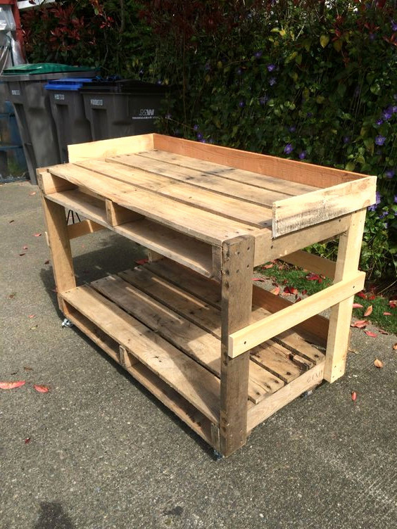 Construire table basse avec palette