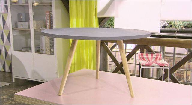 Table basse scandinave fabriquer