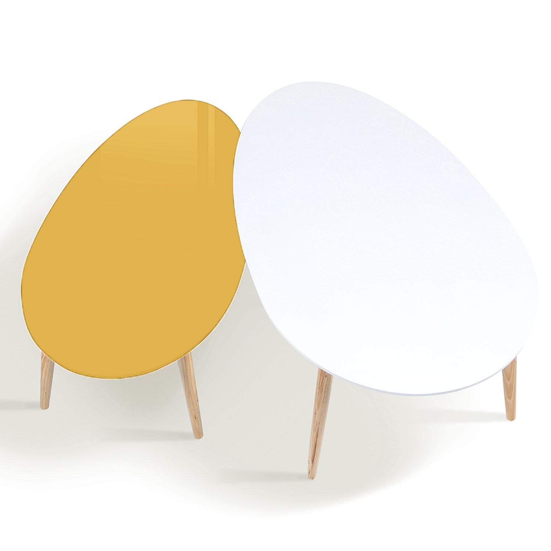 2 table basse gigogne scandinave