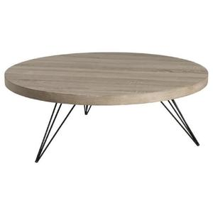 Table basse ronde bois cdiscount