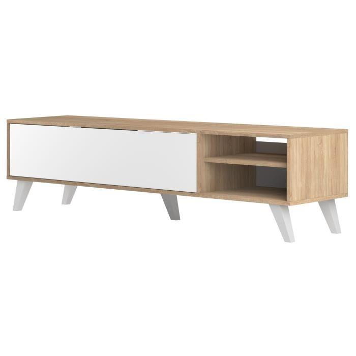 Meuble tv et table basse scandinave pas cher
