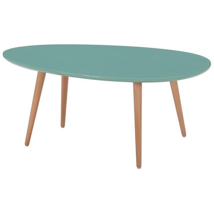 Table scandinave basse