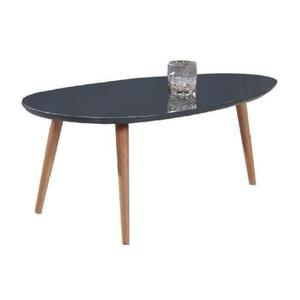 Table basse scandinave ronde grise