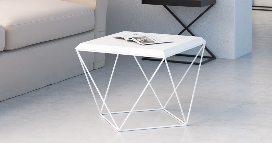 Salon scandinave table basse