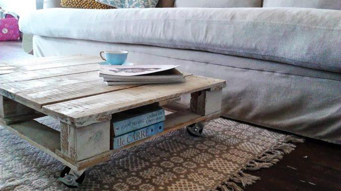 Fabriquer une table basse bois