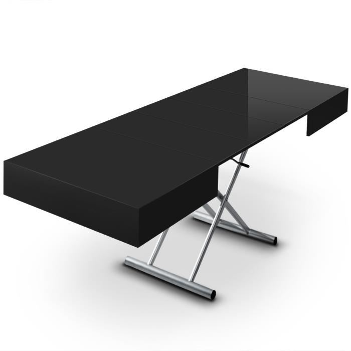 Table basse relevable cassidy blanc