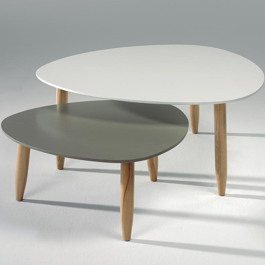 Table basse scandinave par 3