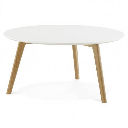 Table basse chene massif scandinave