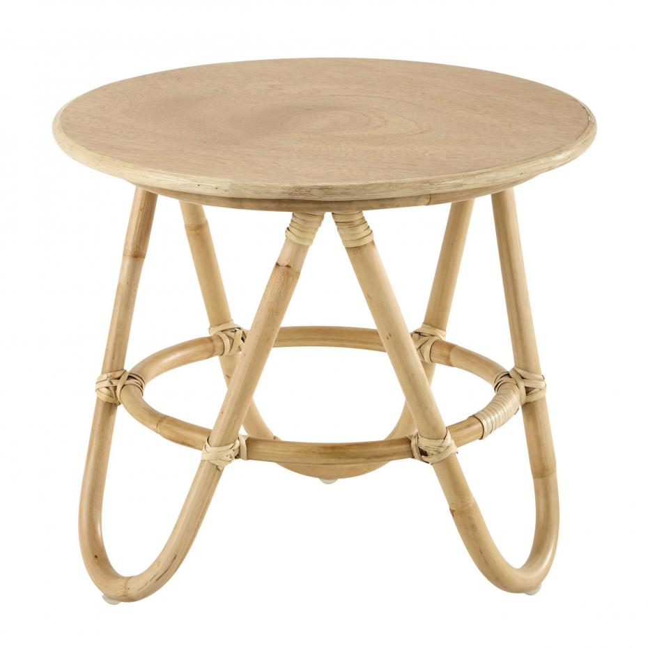 Table basse ronde bois maison du monde - emberizaone.fr