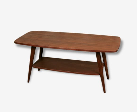 Table basse scandinave 2 plateau