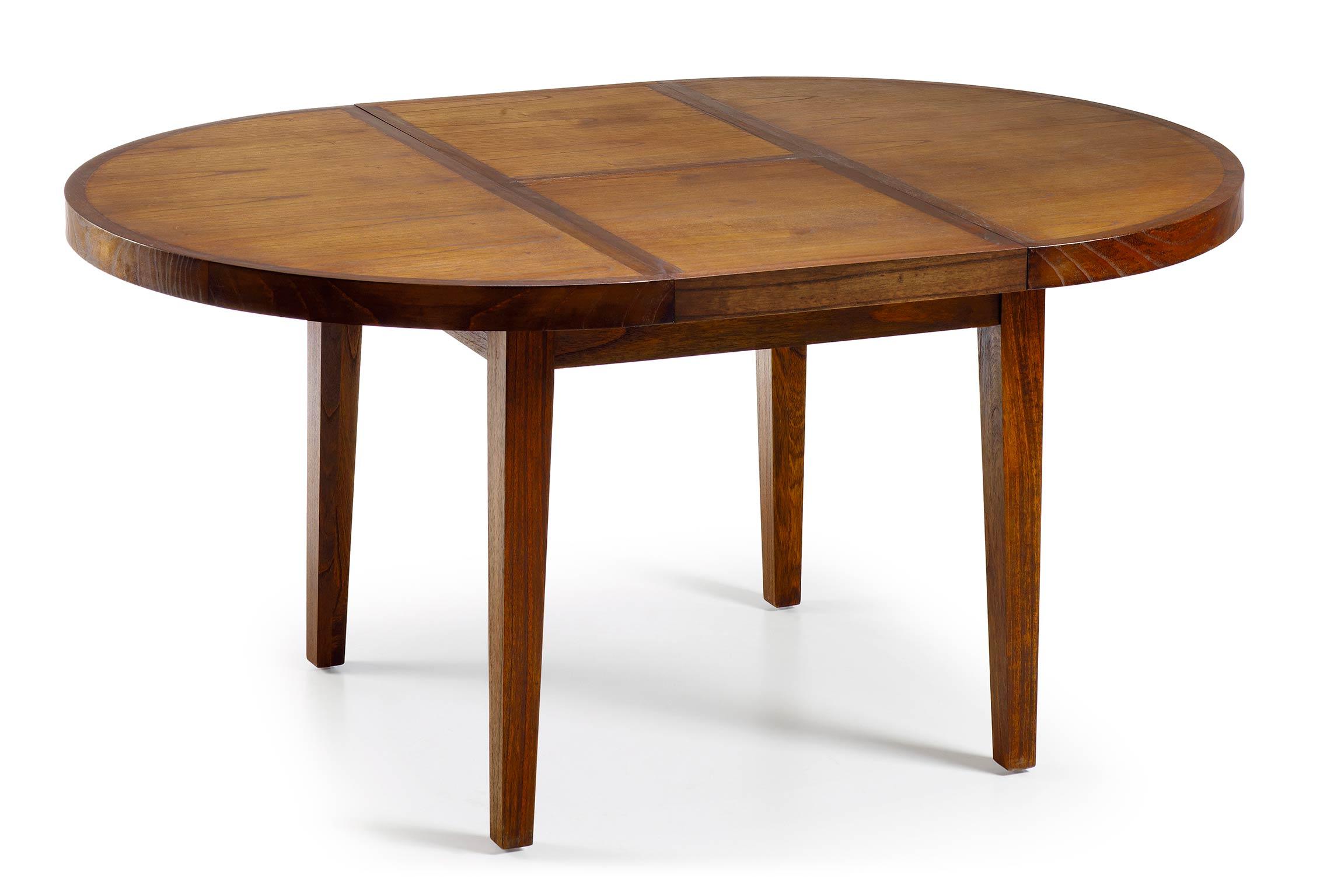 Table basse en bois avec rallonge